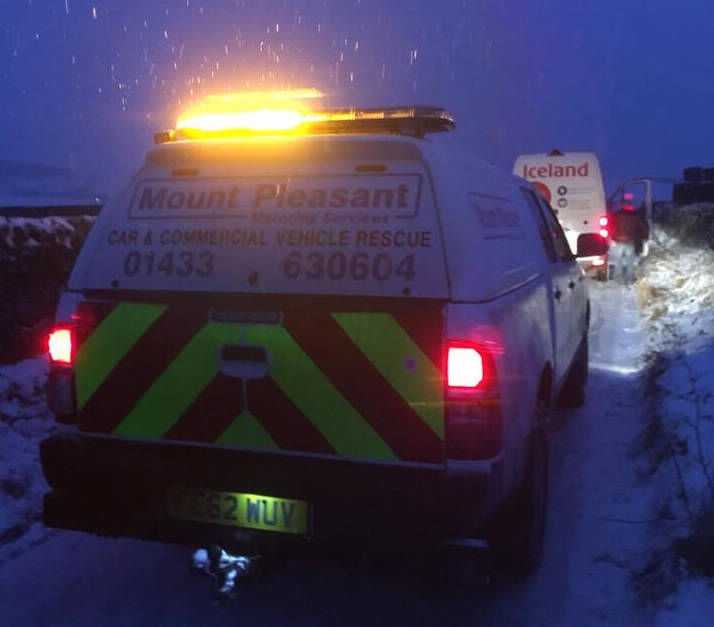 Roadside Vehicle Assistance in the High Peak