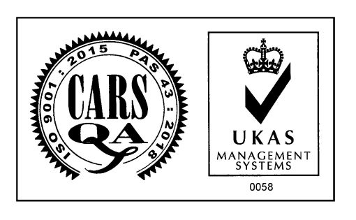 Mount Pleasant Motoring Services UKAS Accreditation